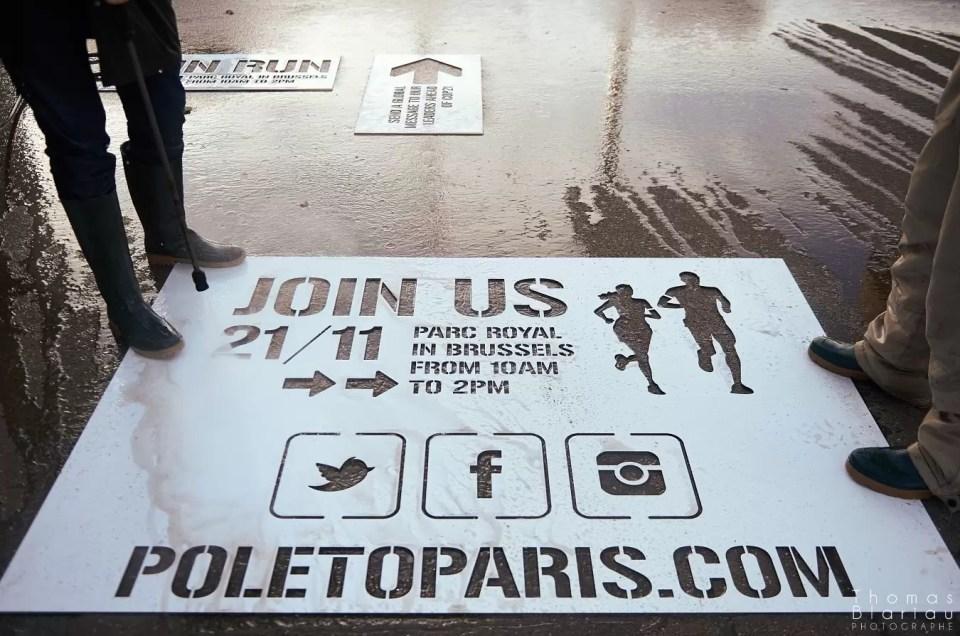 """Couverture """"Pole to Paris"""" pour Altavia"""