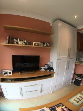 Bespoke storage cupboard lower unit