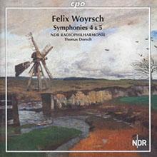 Rezension zur Aufnahme der 4. und 5. Sinfonie von Felix Woyrsch mit der NDR Radiophilharmonie Hannover