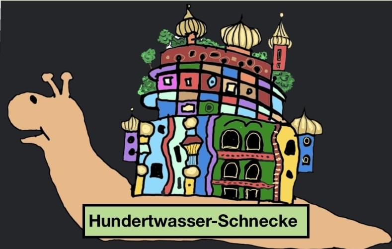 Hundertwasser-Schnecke