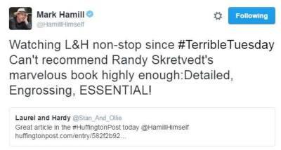 mark hamill tweet