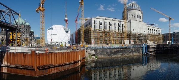 Berliner Schloss-Berlin Mitte-Humboldtforum