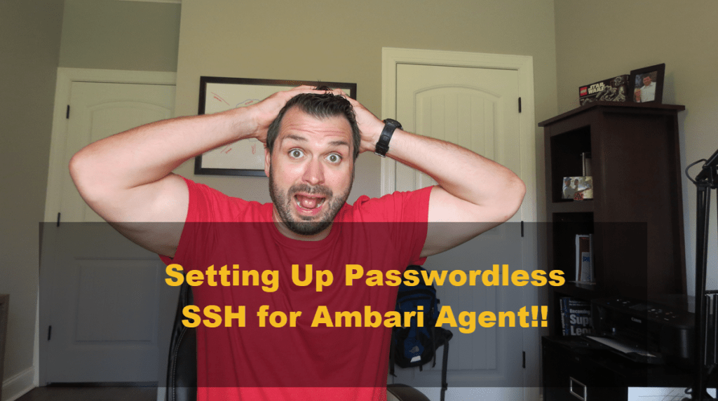Setting Up Passwordless SSH for Ambari Agent