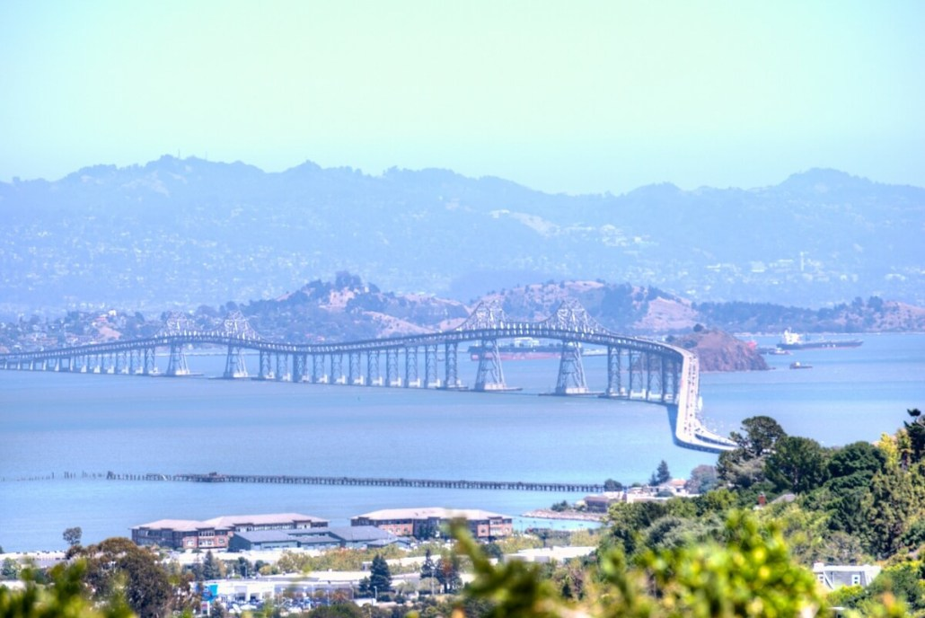 Richmond San Rafael Bridge View