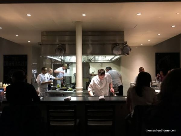 The Commissary San Francisco open kitchen