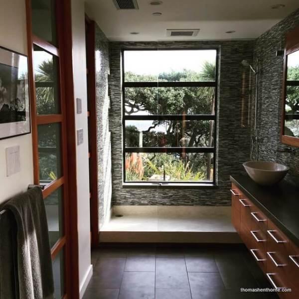 a remodeled marin county bathroom