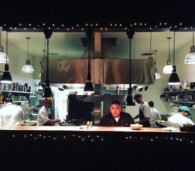 open kitchen at 1760 restaurant san francisco