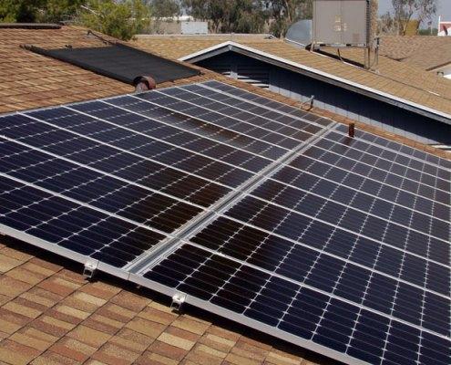 photo of solar energy panels courtesy solarworld