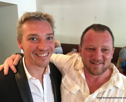 Alex Prodhomme and Stephen Bouillez