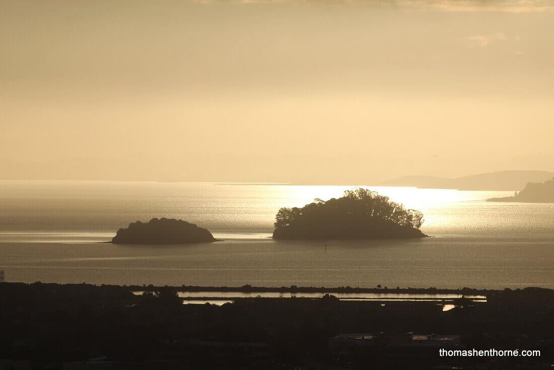 Marin Islands At Sunrise