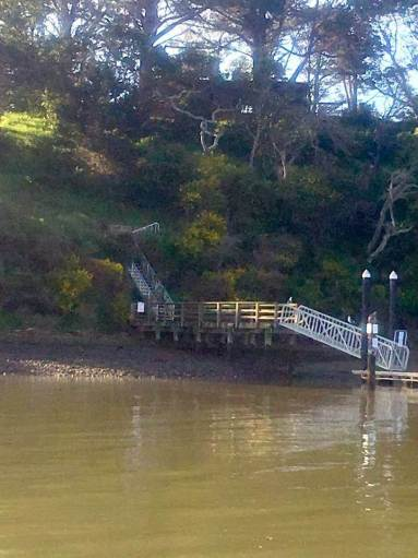Boat Dock and Caretaker House on Marin Islands