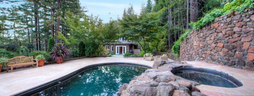 8 Woodland Place Kentfield Pool View