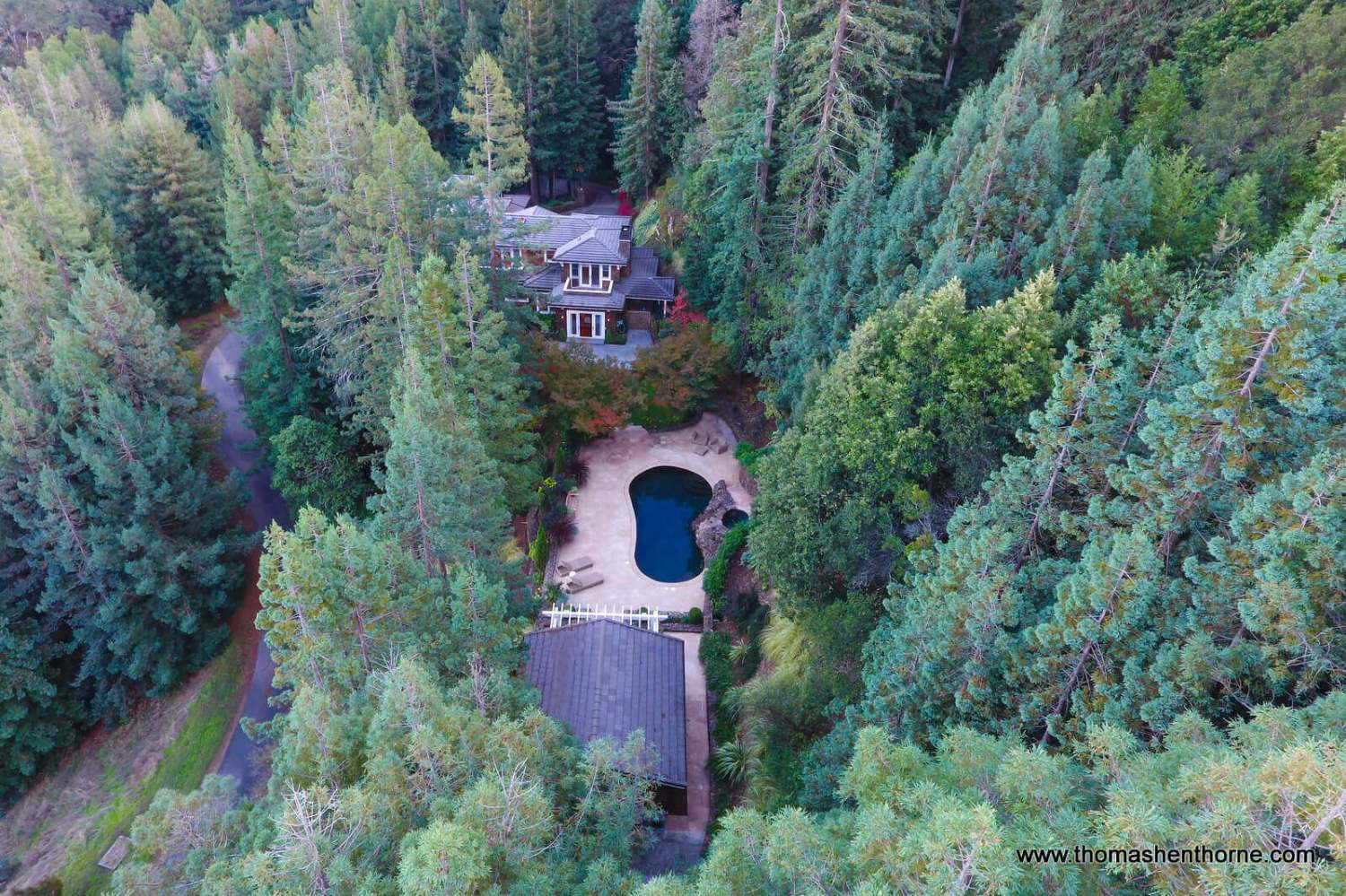 Aerial view of 8 Woodland Place
