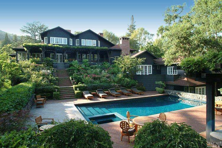 20 Glenwood Avenue in Ross Most Expensive Home Sold in Marin in 2016