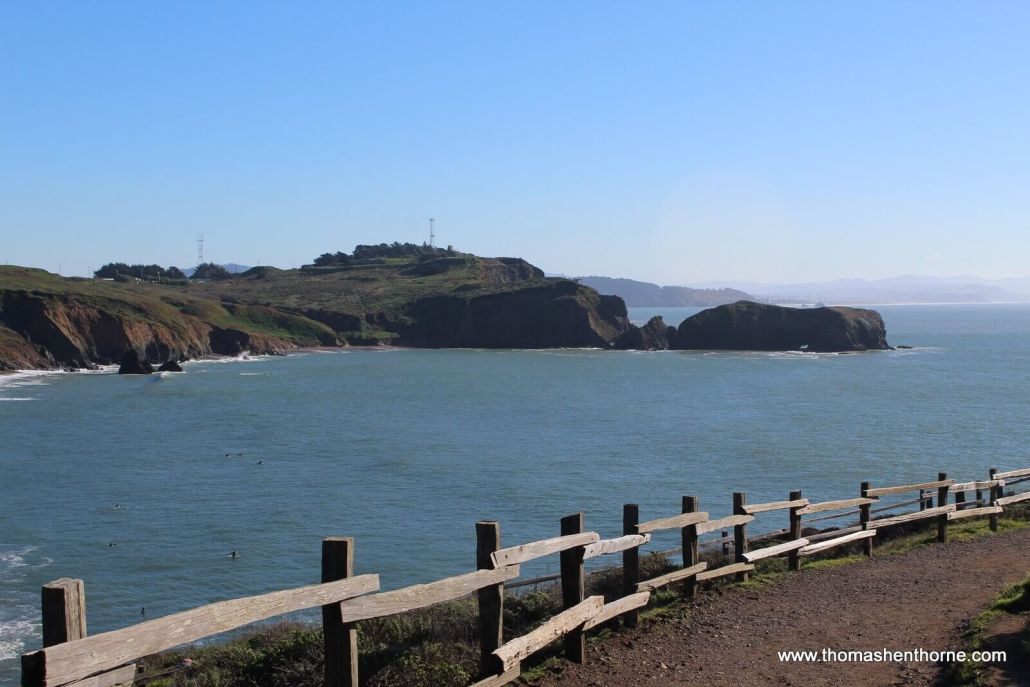 Rodeo Beach Hike trail