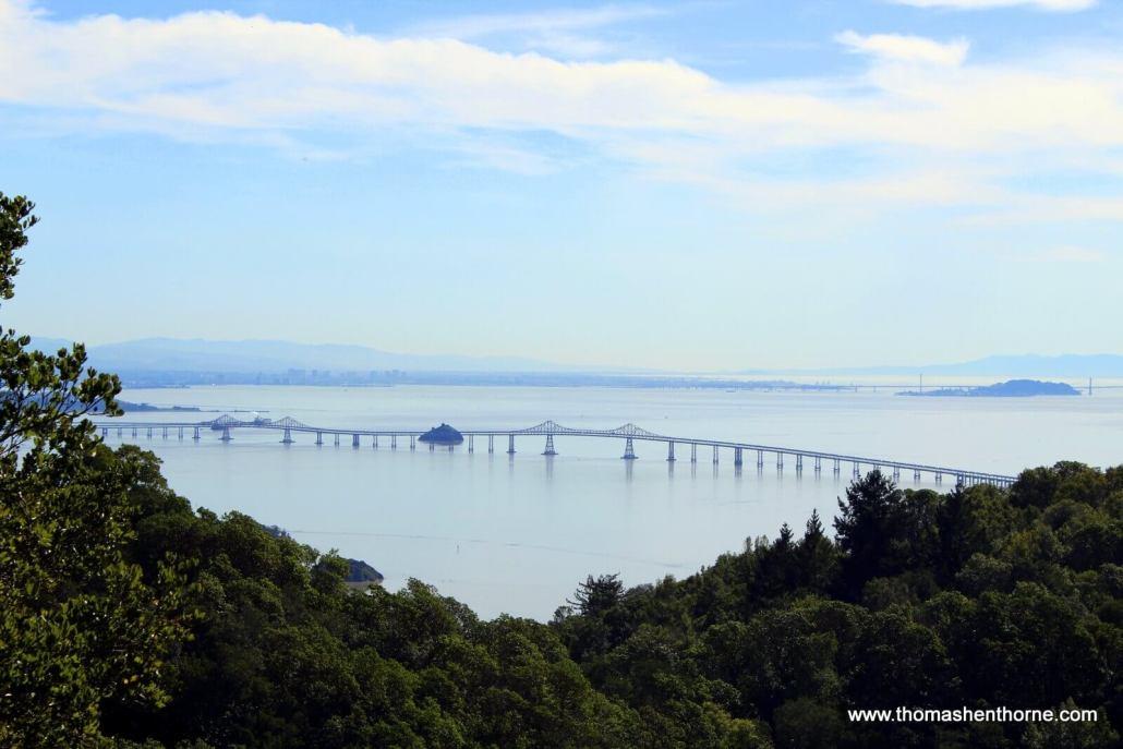 View of Richmond San Rafael Bridge
