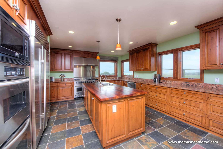 Kitchen at 125 Calle del Sol Bodega Bay California