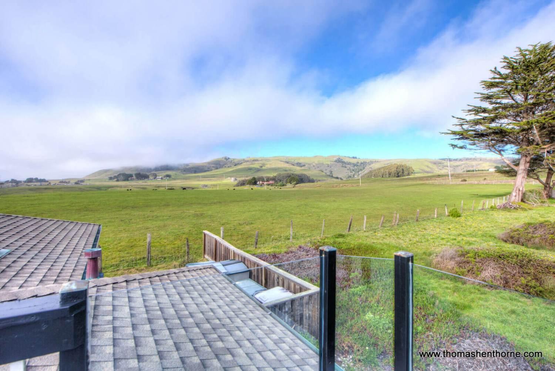 View towards pasture