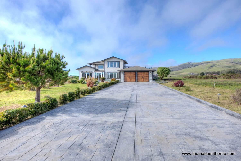Front exterior of 125 Calle del Sol Bodega Bay California
