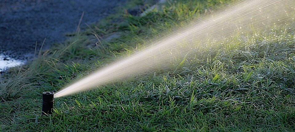 photo of spray irrigation