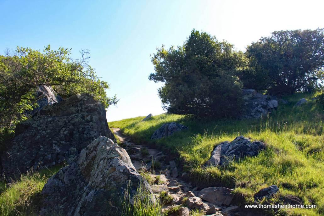 Rocks along Ring Mountain Hiking Trail