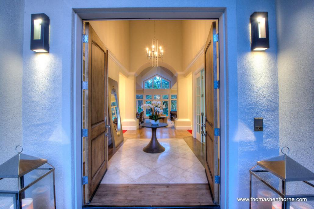 Entry doors and foyer marin open houses