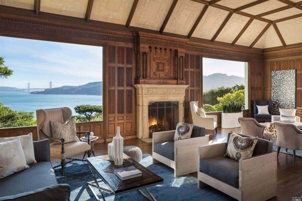 345 Golden Gate Avenue in Belvedere, California, Most Expensive home sold in 2017 in Marin County