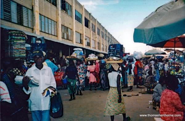 Market in Lome Togo - Grand Marche