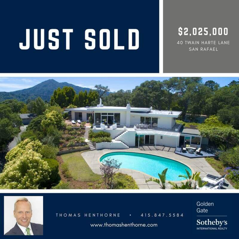 40 Twain Harte Road Just Sold Announcement