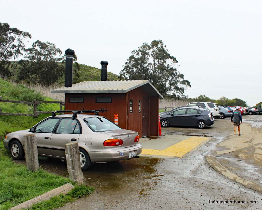 Restrooms at Parking Lot for Tennessee Valley Trail