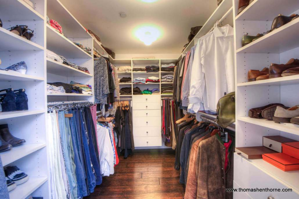 Walk-in Closet Master Bedroom