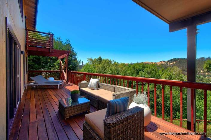 Expansive View Deck