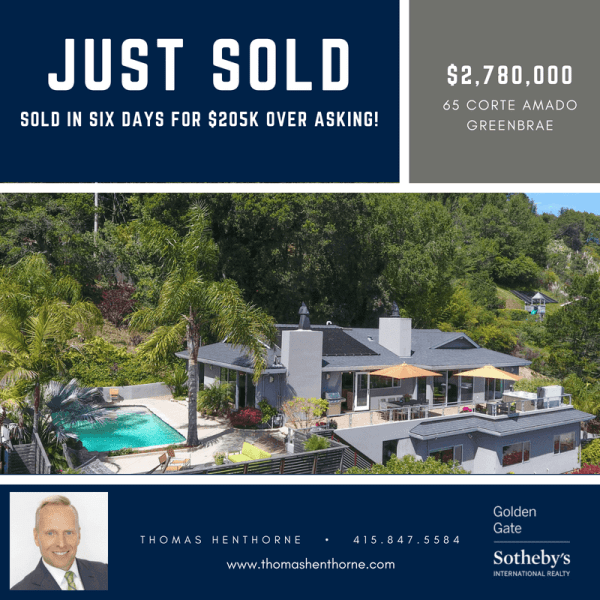 65 Corte Amado Just Sold Infographic