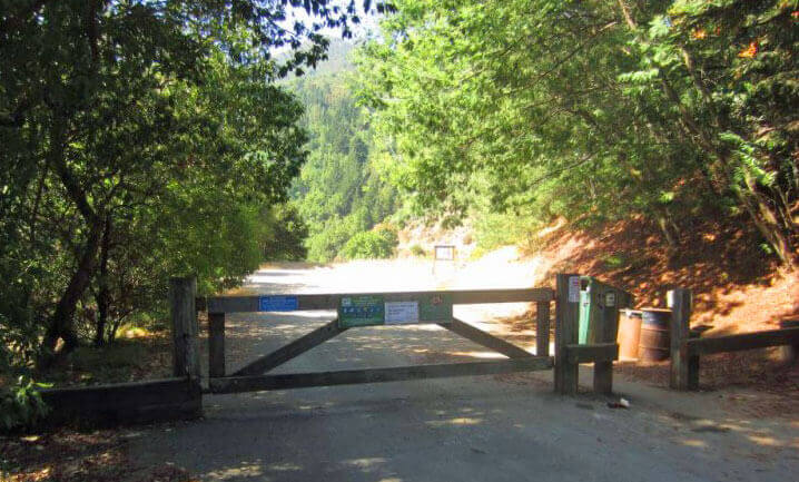 Crown Road Trailhead