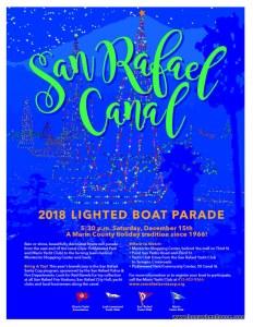 San Rafael Lighted Boat Parade 2018