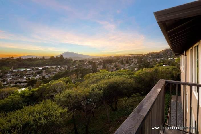 Mount Tamalpais in distance