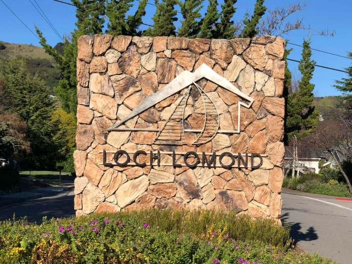 Loch Lomond Sign
