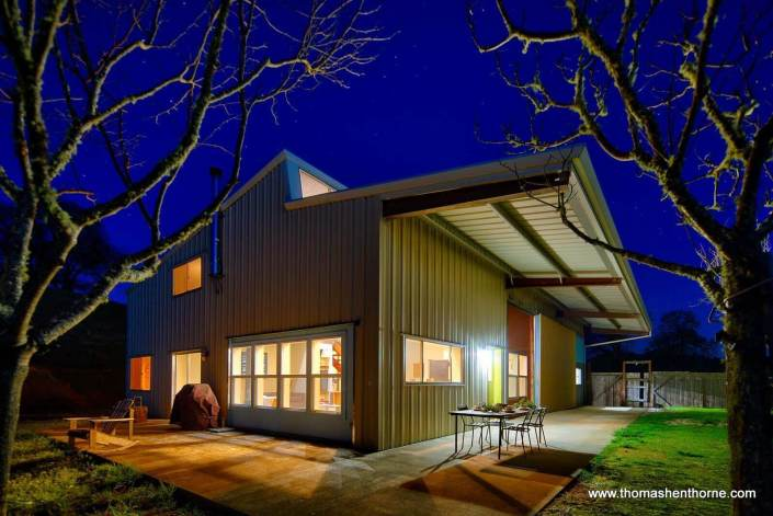 Modern Industrial modern home