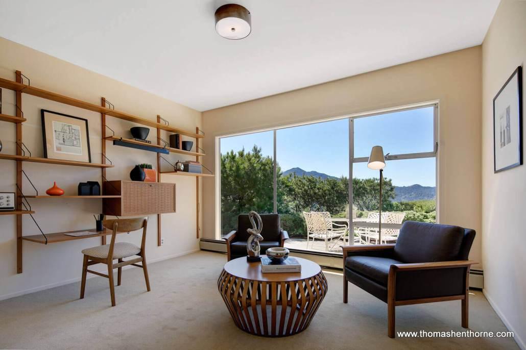 Room with danish modern furniture