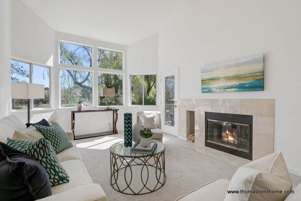 3 Creekside Court Corte Madera Living Room
