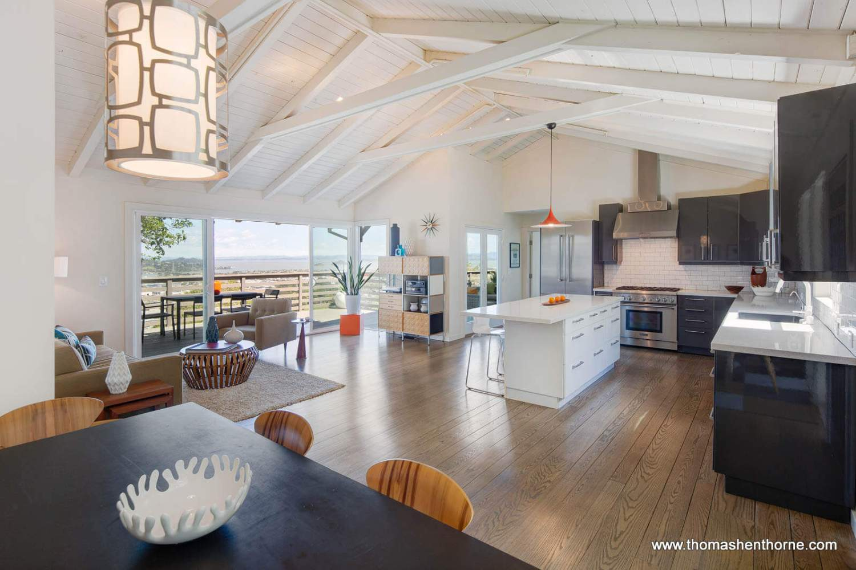 466 Bret Harte Road Kitchen / Dining / Living Room