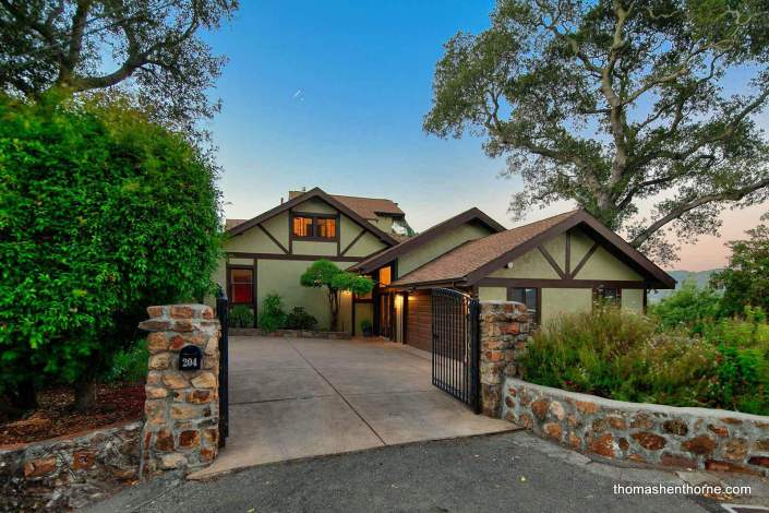 Gated entry to home