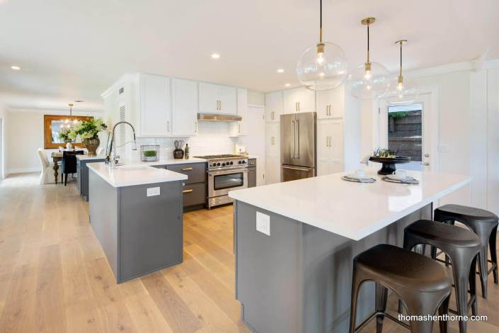 Modern kitchen at 35 West Seaview in San Rafael