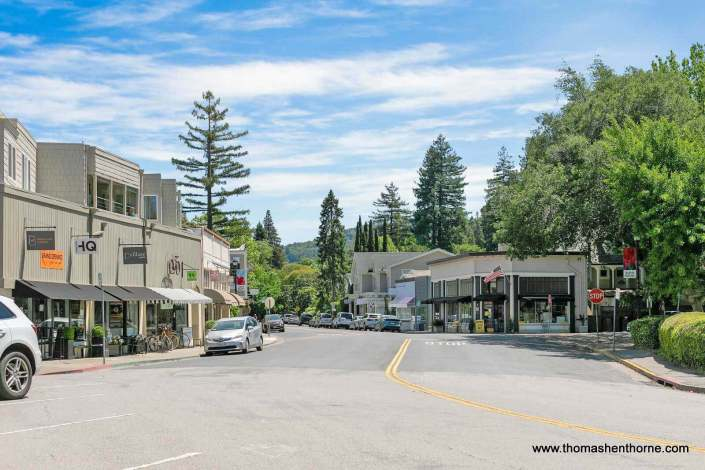 Downtown Ross California
