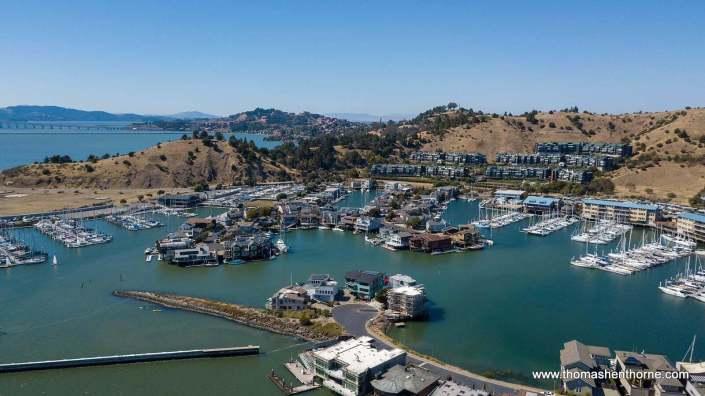 Point Richmond California aerial