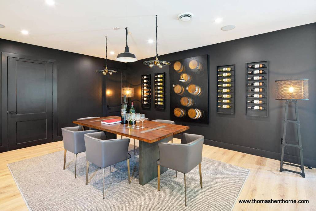 home wine tasting room