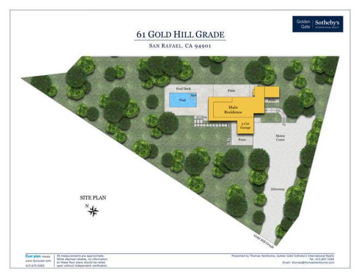 61 Gold Hill Grade Site Plan