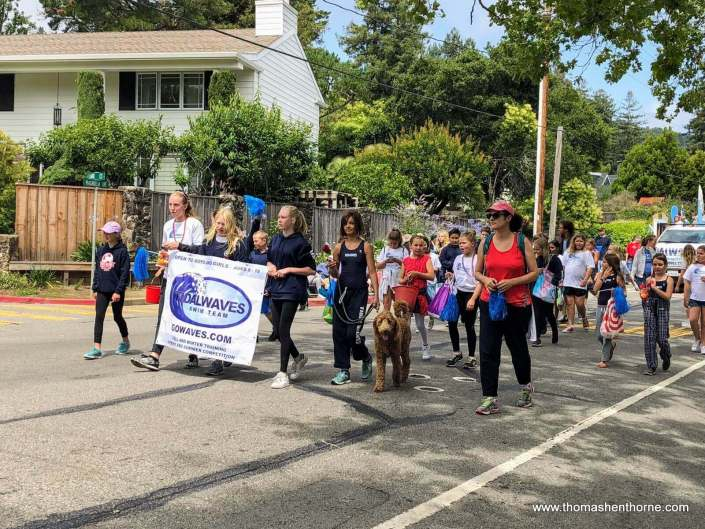Larkspur 4th of July Parade 2018