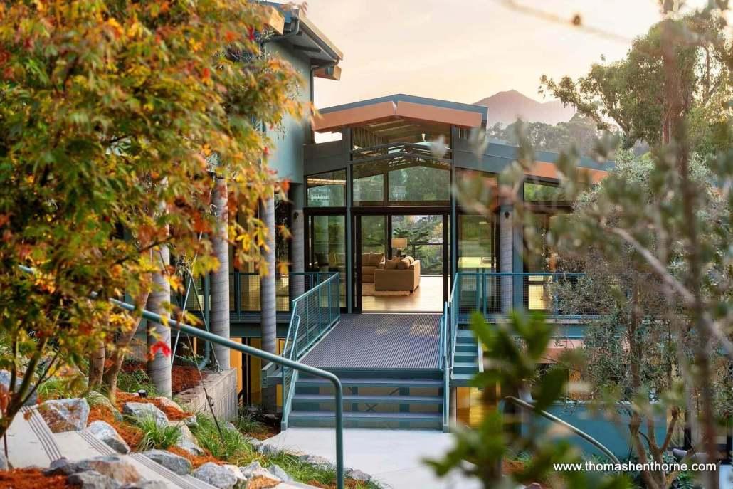 modern home in marin county