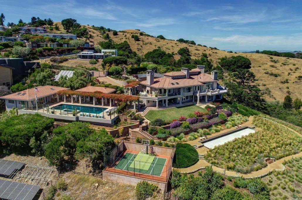 1960 Straits View in Tiburon second most expensive home sold in Marin in 2020
